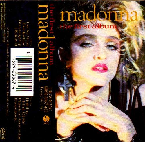 The First Album Uk Cassette Album Madonnashop