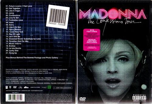 Confessions Tour DVD | Madonna...
