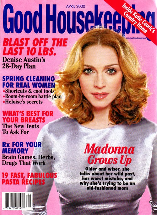 Good housekeeping magazine apr 2000 madonnashop for Good house magazine